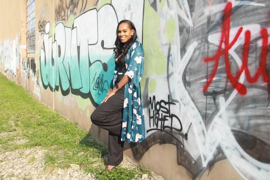 Style-files-Monteau-Green-floral-kimono-Boohoo-Wideleg-pants-zara-pvc-clear-black-pumps-forever21-lace-corset-bodysuit-ooohlalablog-12