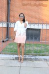 White-puff-sleeve-wrap-blouse-pink-pleated-mini-skirt-justfab-salona-cylinder-heel-sandals-top-Birmingham-blogger-Alabama-bloggers-oohlalablog-3