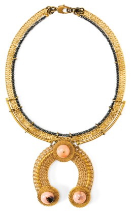 Necklace $242 by Michelle Ross