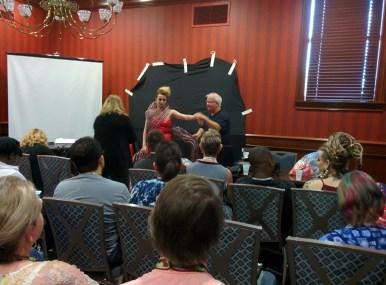 Brian DeMint in a demo class at Shutterfest.
