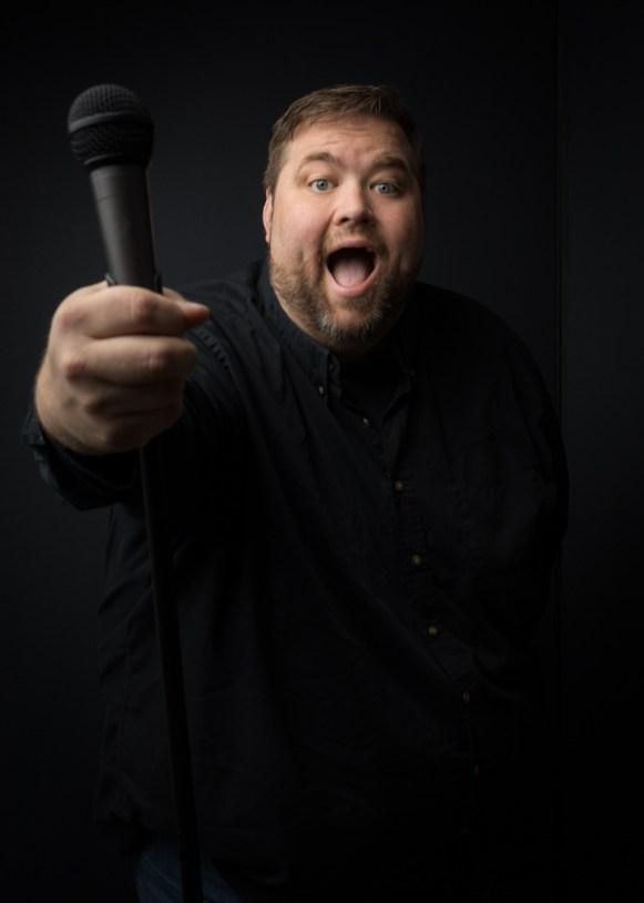 St. Louis comedian Chris Cyr portrait session. ©2017 Ooh St. Lou Studios