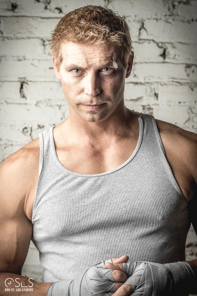 Character portrait of actor Brock Roberts as Nickey