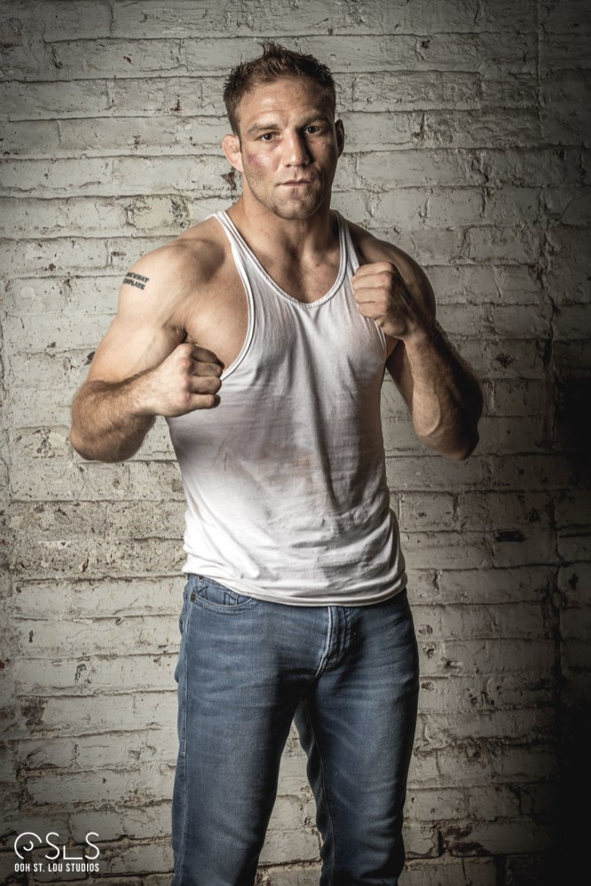 MMA fighter Ryan Sutton worked as an extra on set and gave fighting tips during filming.