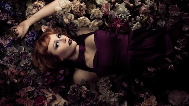 Portrait Photography Floral