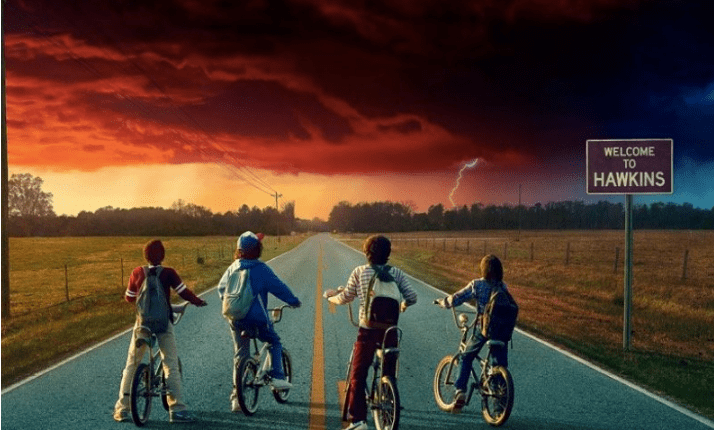 boys on the bike