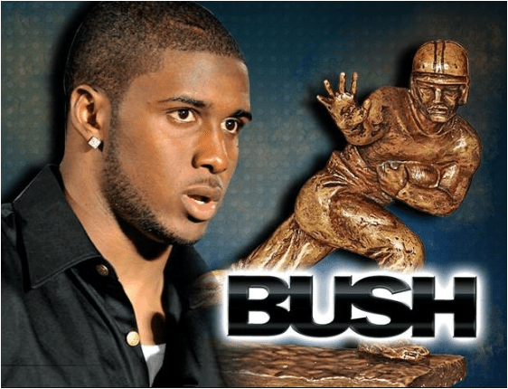 reggie bush and heisman
