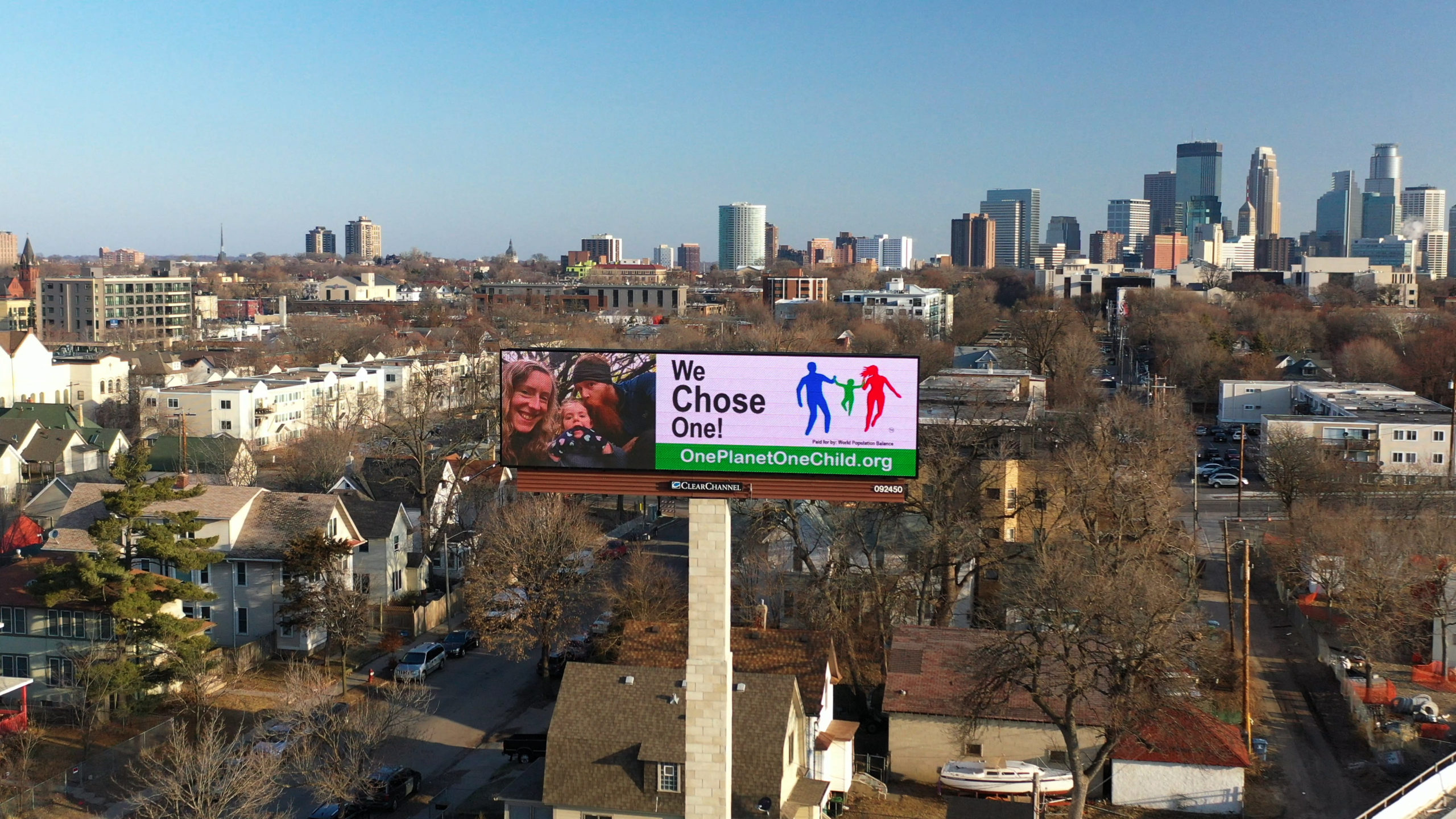 """""""One Planet, One Child"""" Billboards thumbnail"""