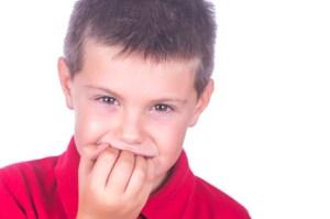 悪い癖による上顎前突