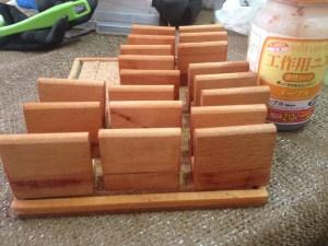 木製プレートの製作3