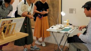 京都市動物園での昆虫イベントe