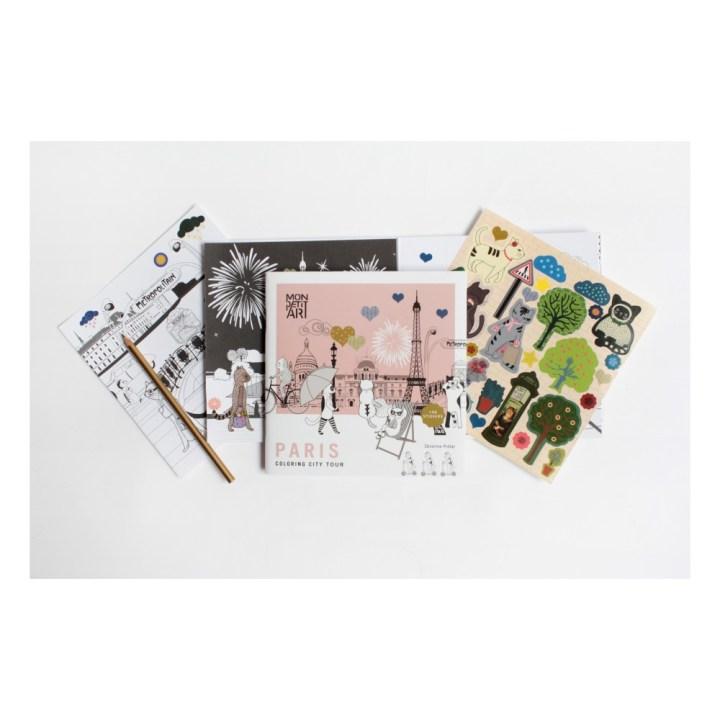 malbuch-stickers-city-tour-paris Mon Petit Art 9€