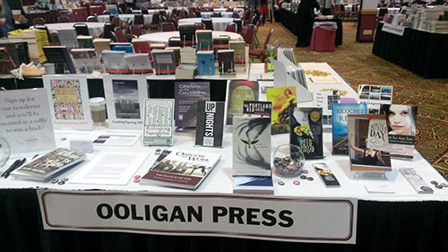 The Ooligan Table at PNBA 2013
