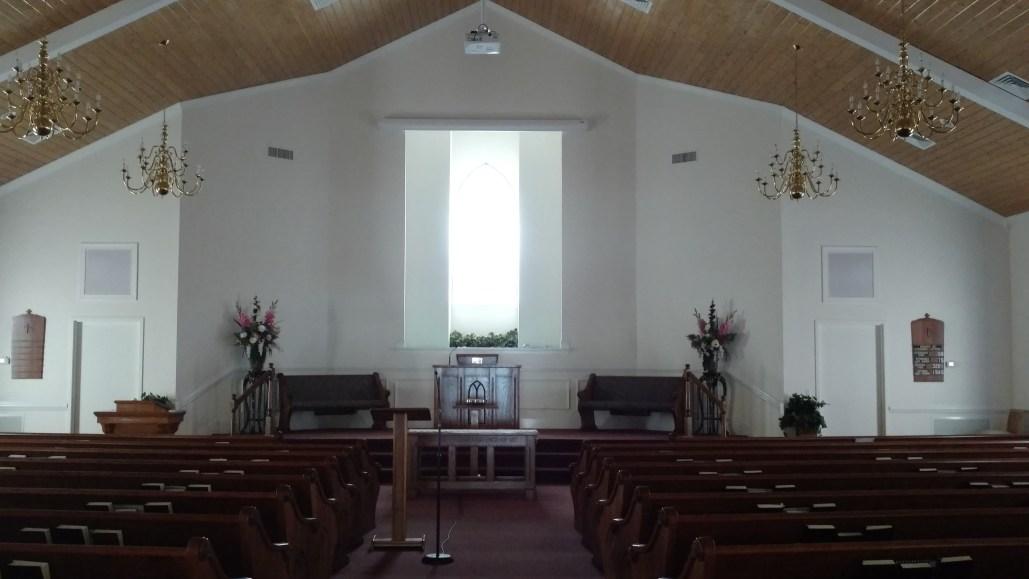Ooltewah Church of Christ Auditorium