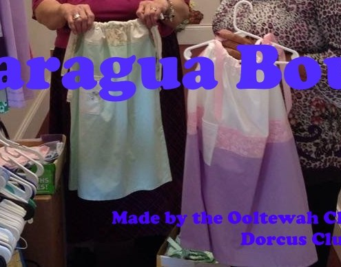 Clothes for Nicaragua