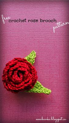 Rose Crochet Patterns. Oombawka Design Crochet.