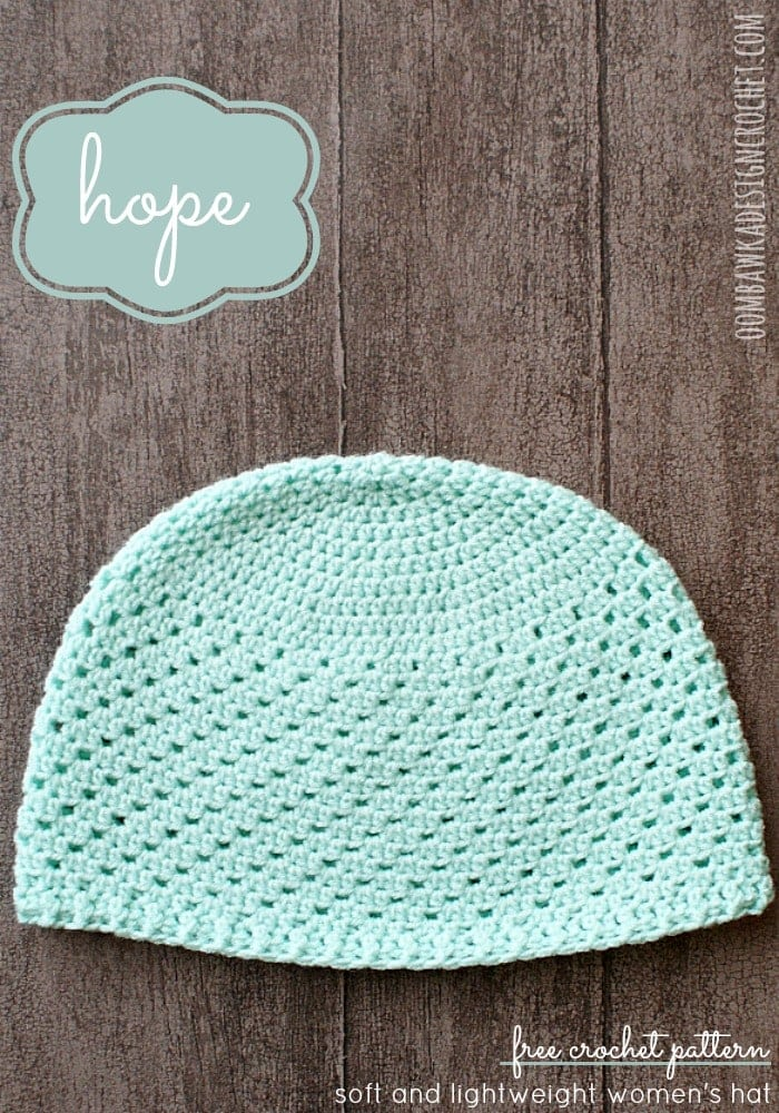 Hope Womens Hat Oombawka Design Crochet