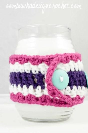 Jar Cosy for Candle @OombawkaDesign