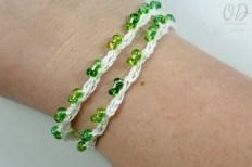 Bracelet Option 3 | Forever Summer Necklace Free Pattern @OombawkaDesign