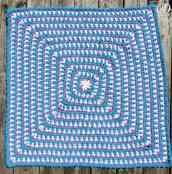 36 inch square   Zoeys Baby Blanket   Free Pattern   Oombawka Design