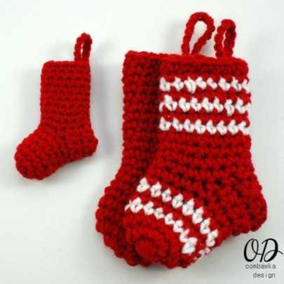 | Little Christmas Stockings | Oombawka Design