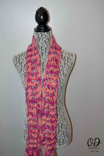 3 #MixologyYarns Classy and Quick 1 Skein Scarf Free Pattern