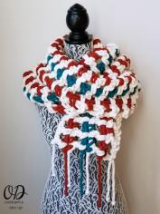 Super Sweet 2 Hour Super Scarf - Oombawka Design 3