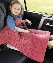 Staghorn - On The Go Baby Blankets - Leisure Arts - Book Review by Oombawka Design Crochet
