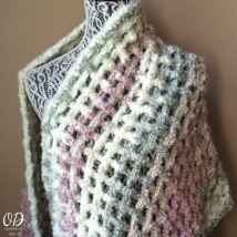 2 Gentle Solace Prayer Shawl | Friendship Shawl | Free Pattern @OombawkaDesign