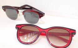 真っ赤なフレームのサングラスはいかが? THIERRYLASRY(ティエリーラスリー)OLIVERPEOPLES(オリバーピープルズ)
