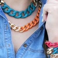 Neon Chain Jewelry
