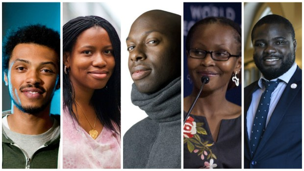 From Left: Aston, Bilikiss, Obi, Juliana, Iyin