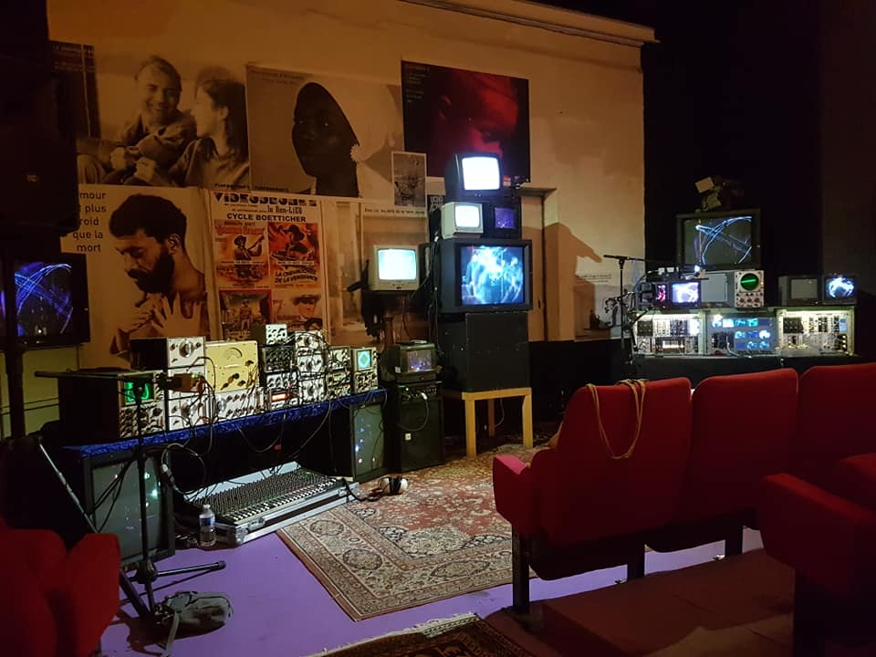 Biblioteq Mdulair & Synkie Expanded TV videodrom 2 Muff marseille underground film & music festival 2018