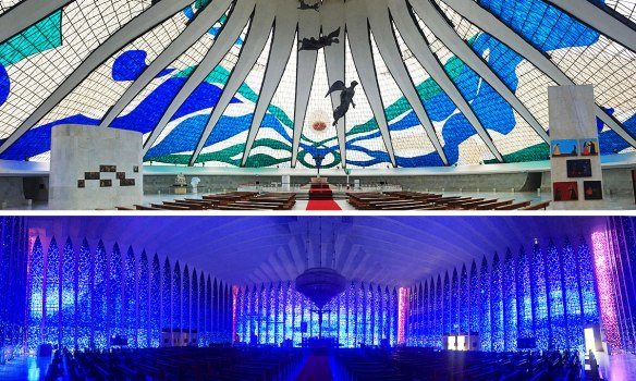 I'm not usually a big fan of visiting churches, but these two in Brasilia are easily the best I've ever seen