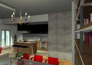 Architekt Pabianice OOO studio Architektura i Design portfolio projekt wnetrza mieszkanie 4