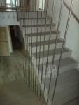 Architekt Pabianice OOO studio Architektura i Design Balustrada schodowa stal nierdzewna harfowa 4