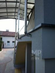 Architekt Pabianice OOO studio Architektura i Design Balustrada zewnetrzna stal nierdzewna wypelnienie szklane 5