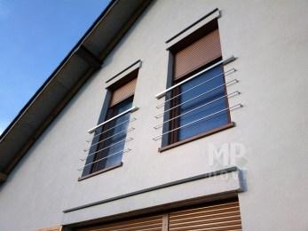 Architekt Pabianice OOO studio Architektura i Design Portfenetr stal nierdzewna profil kwadratowy 3