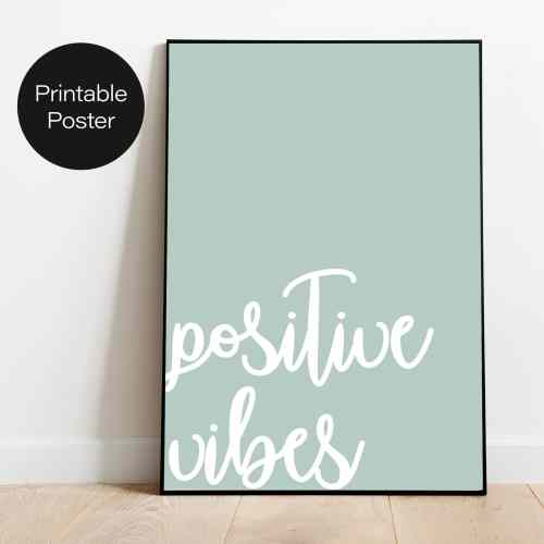 OOPS Poster Positive Vibes