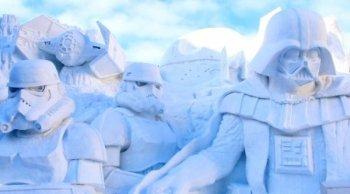 さっぽろ雪まつり 大通り会場雪像