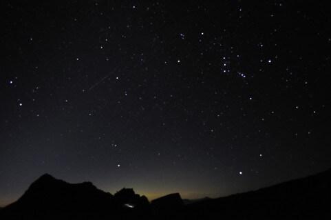 ペルセウス座流星群の穴場スポット