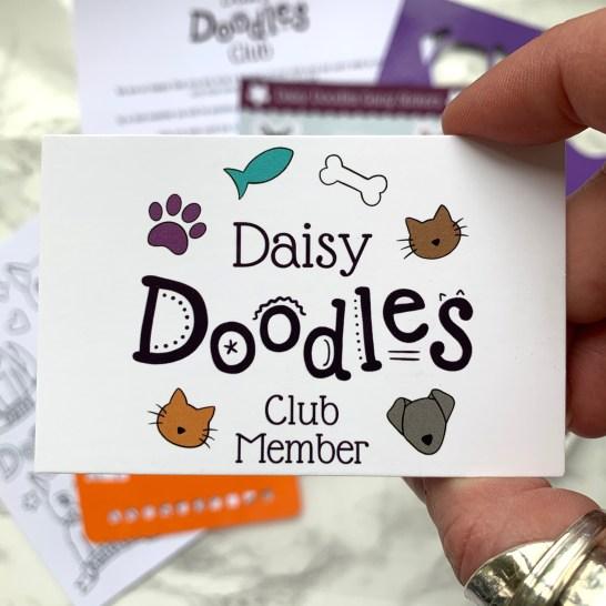 Doodles Member Card