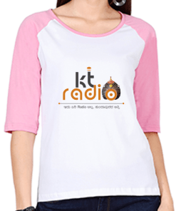 KT Radio – Raglan T-Shirt – Women's
