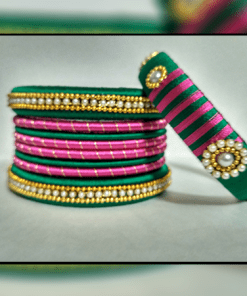 Dual Color Bangle Set
