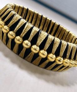 Royal Ethnic Gold Bangle