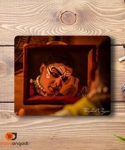 Yakshagana Makeup Mouse Pad