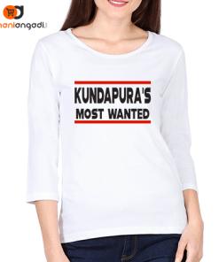Kundapura's Most Wanted Women's Full Sleeve T-Shirt