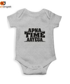 Apna Time Aayega Kids Rompers