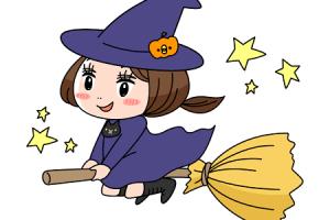 魔法使いの女の子