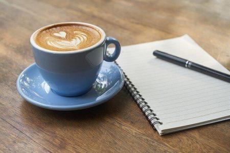 コーヒーとメモ