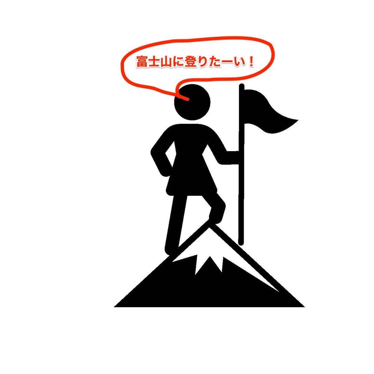 散歩のついでに本屋さんには行くけれど、富士山には登れない!登りたい?どうやって登る?